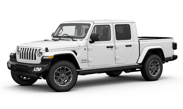 2020 Jeep Gladiator Overland Utility - dual cab