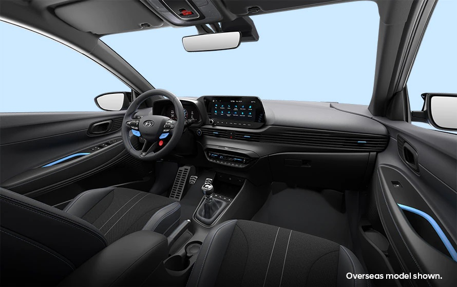 i20 N A sports car inside and out.