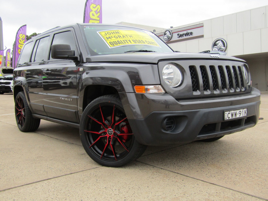 2014 MY15 Jeep Patriot MK Sport 4x2 Wagon Image 1