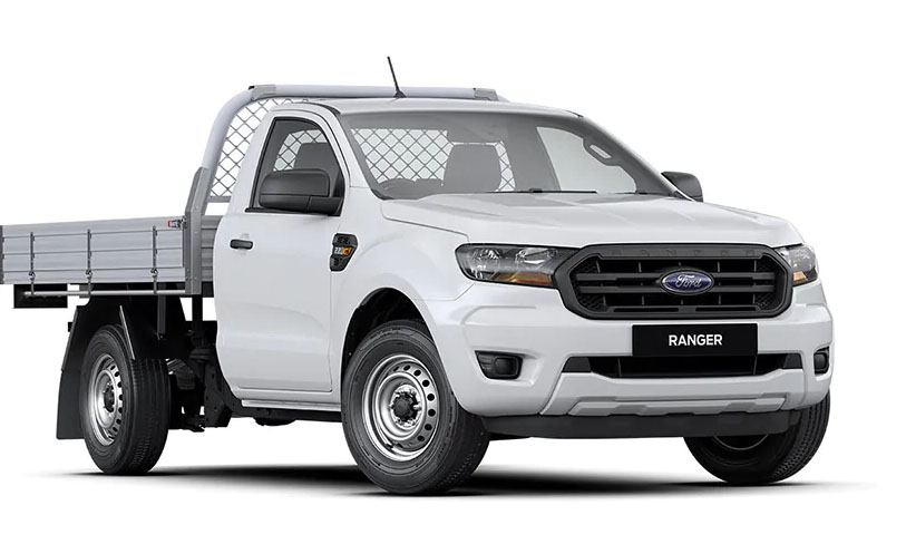 2020 MY20.25 Ford Ranger PX MkIII 4x2 XL Single Cab Chassis Low-Rider Cab chassis