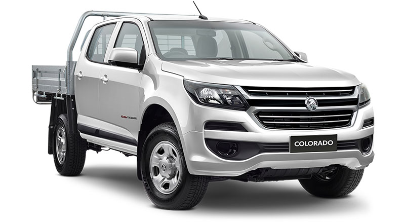 2020 MY19 Holden Colorado RG 4x4 Crew Cab Chassis LS Cab chassis