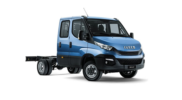 Daily Cab Chassis Dual Cabs