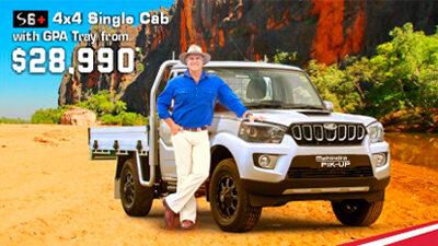 S6+ Single Cab 4x4