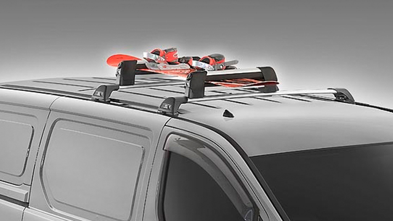 Ski and snowboard carrier.