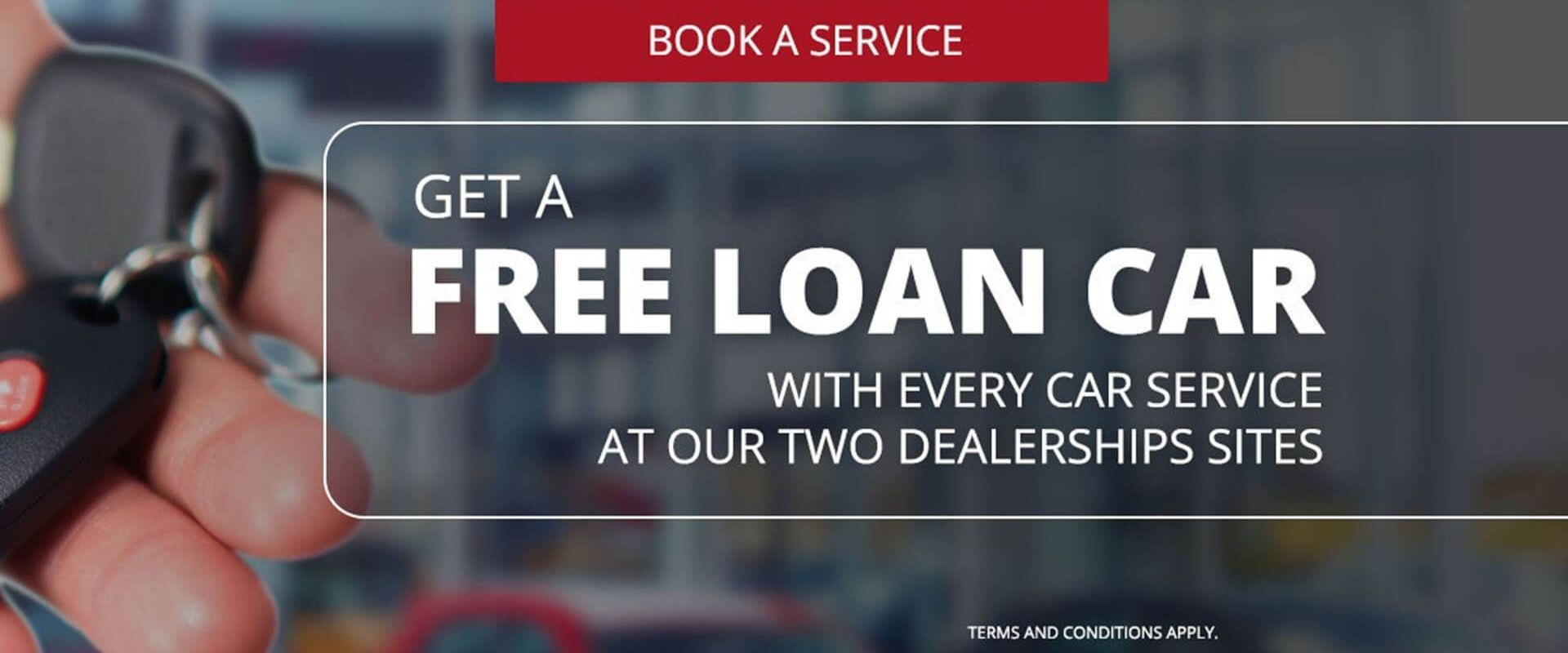 Free Loan Car With Every Service