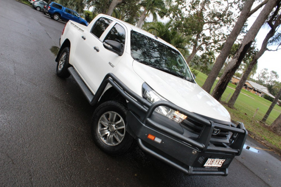 2015 Toyota HiLux GU UTE Utility