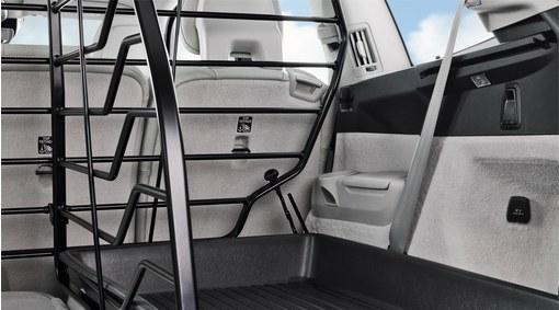 Load compartment divider - longitudinal