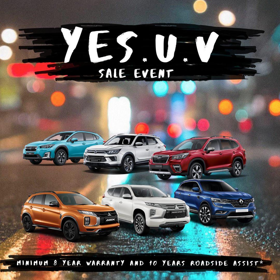 YES.U.V Sale Event