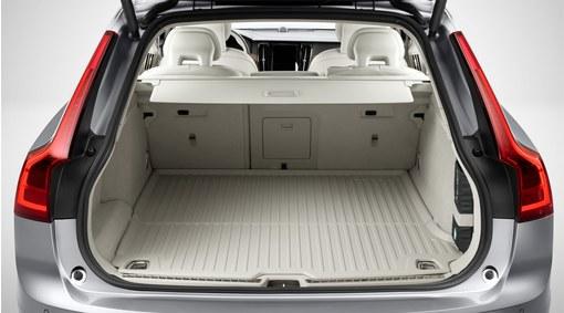 Mat, load compartment, moulded plastic