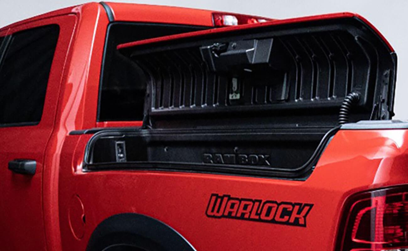 1500 Warlock RAM EXCLUSIVE FEATURES