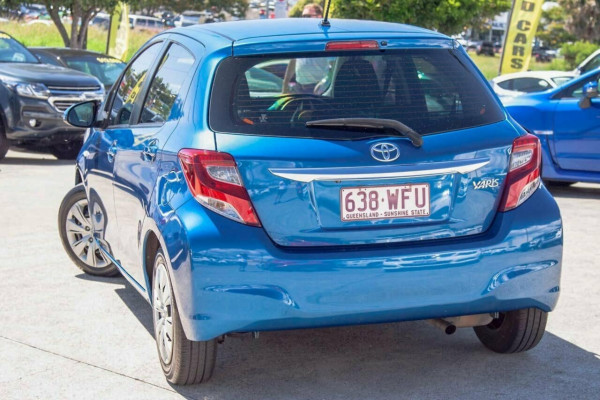 2015 Toyota Yaris NCP130R MY15 Ascent Hatchback