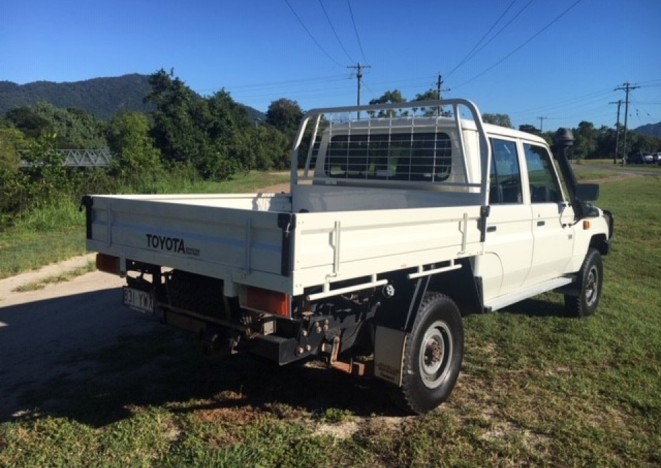 2014 MY13 Toyota Landcruiser VDJ79R  Workmate Cab chassis - dual cab