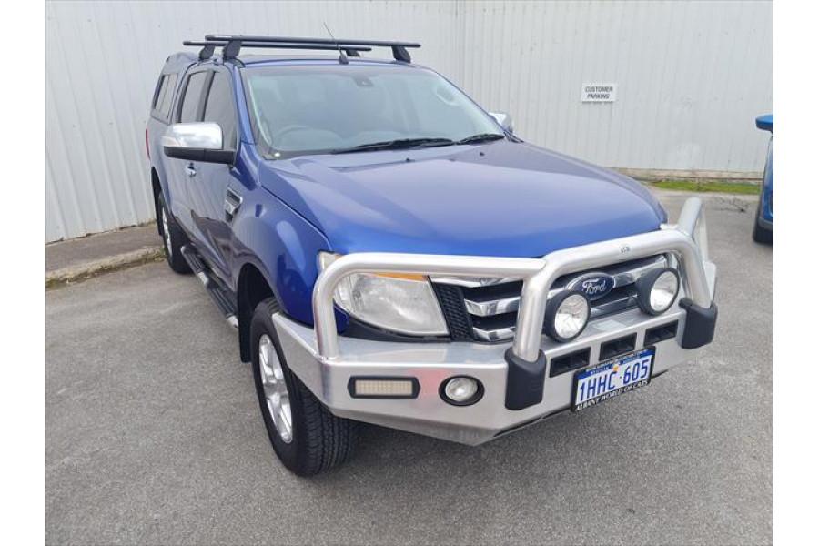 2013 Ford Ranger PX XLT Utility - dual cab