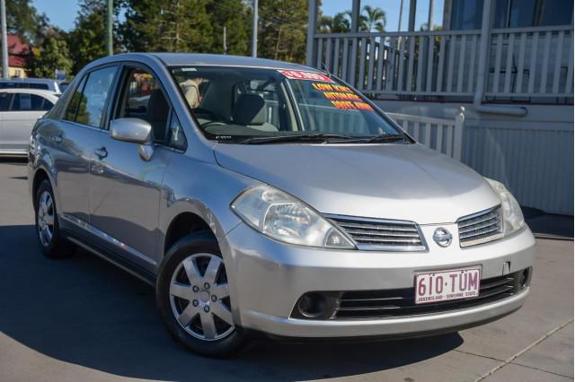 2007 Nissan Tiida C11 MY07 ST-L Sedan