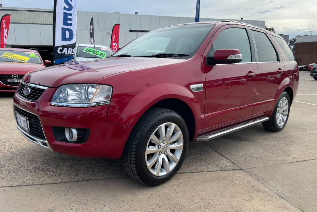 2009 Ford Territory Ghia