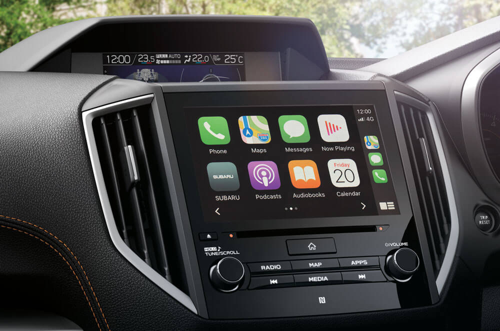 XV Untouchable touchscreen and more