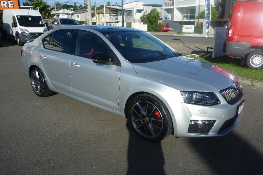 2016 MY17 Skoda Octavia NE RS Sedan