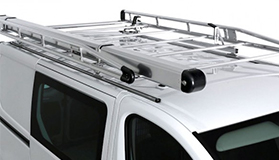 Aluminium roof rack with roller - L2