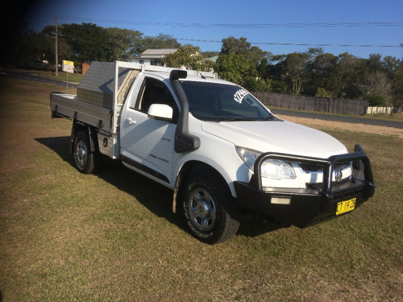 2013 Holden Colorado RG Turbo DX 4x4 s/c t/t/s