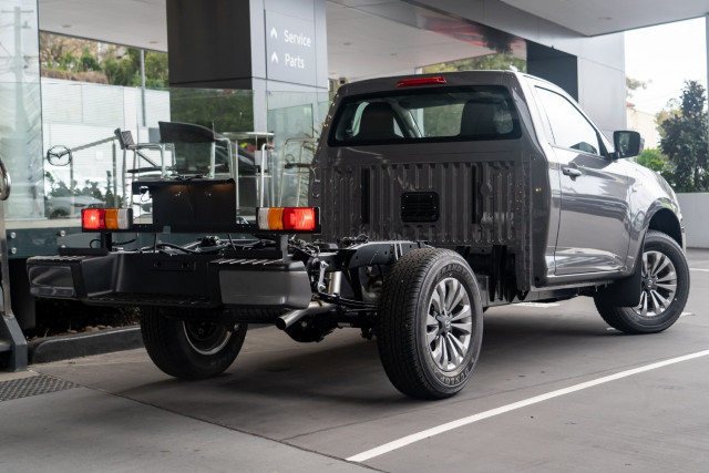2021 Mazda BT-50 TF XT 4x4 Single Cab Chassis Cab chassis Mobile Image 2