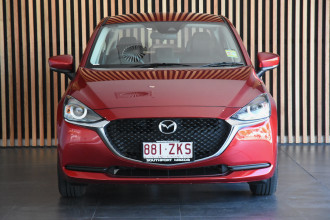 2019 MY20 Mazda 2 DJ Series G15 Pure Sedan Image 2