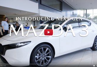 Next-Generation Mazda3 Arrives at Sunshine Coast Mazda - Reveal Video