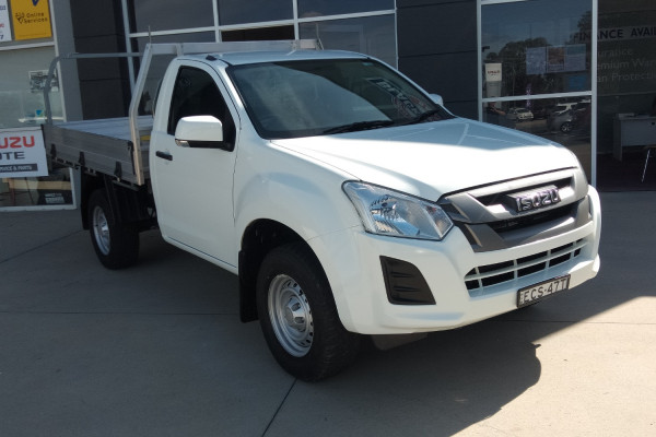2019 Isuzu UTE D-MAX SX Single Cab Chassis High-Ride 4x2 Cab chassis Mobile Image 1