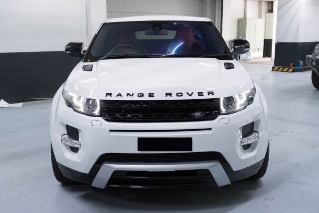 2012 Land Rover Range Rover Evo L538  TD4 Dynamic Wagon Image 4