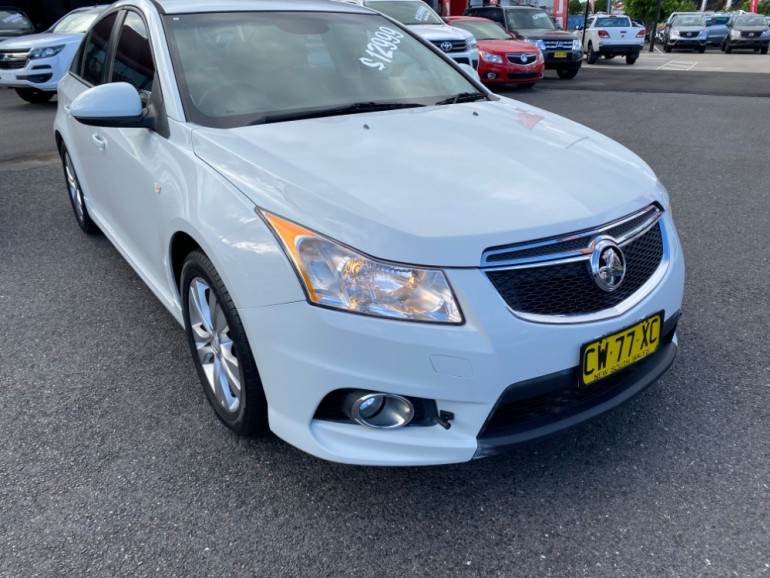 2013 Holden Cruze JH Series II Tu SRi Sedan