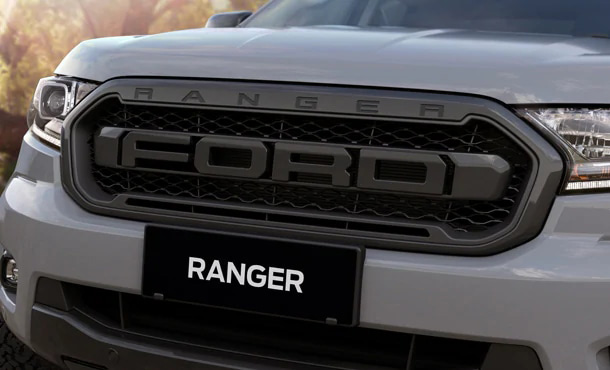 Ranger FX4 MAX F-O-R-D Grille and Sports Bar