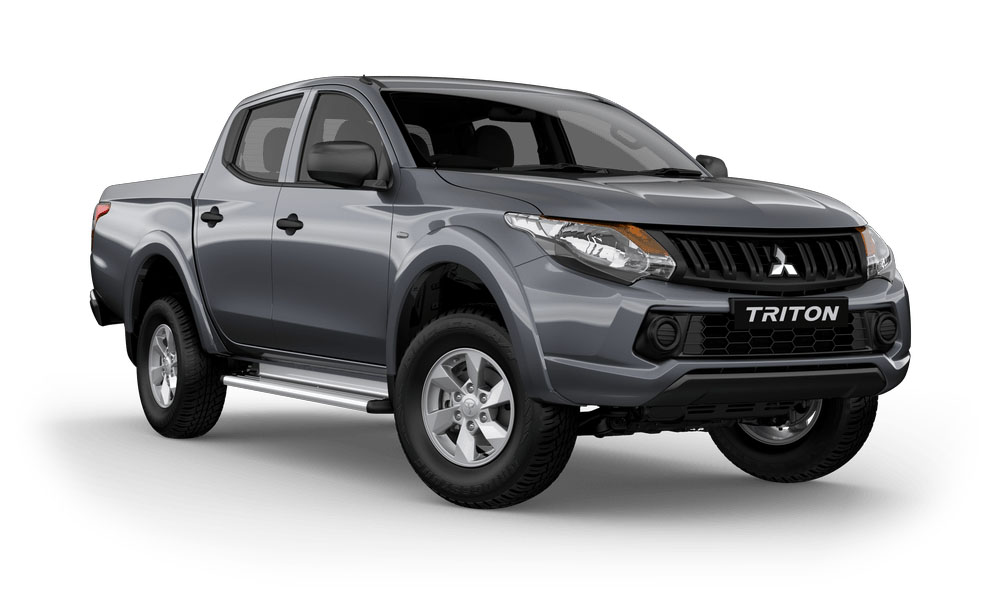 2018 Mitsubishi Triton MQ GLX Plus Double Cab Pick Up 4WD Dual cab
