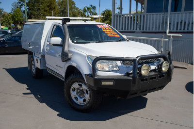 2014 Holden Colorado RG MY14 DX Cab chassis Image 2