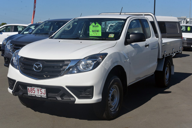 2018 MY19 Mazda BT-50 UR 4x2 3.2L Freestyle Cab Chassis XT Freestyle cab chassis Image 3
