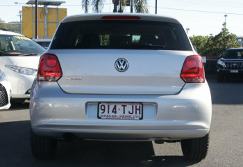 2013 MY13.5 Volkswagen Polo 6R MY13.5 Trendline DSG Hatchback