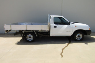 2009 MY08 Nissan Navara D22 MY2008 DX Cab chassis Image 2