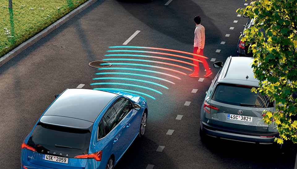Scala Front Assist with Predictive Pedestrian Protection