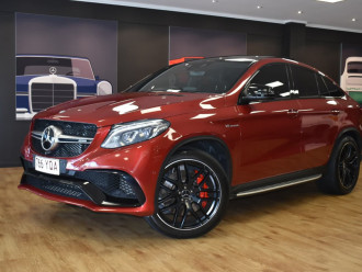 Mercedes-Benz Gle-class GLE63 AMG S C292