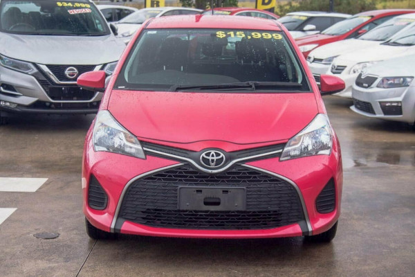 2015 Toyota Yaris NCP130R MY15 Ascent Hatchback Image 3