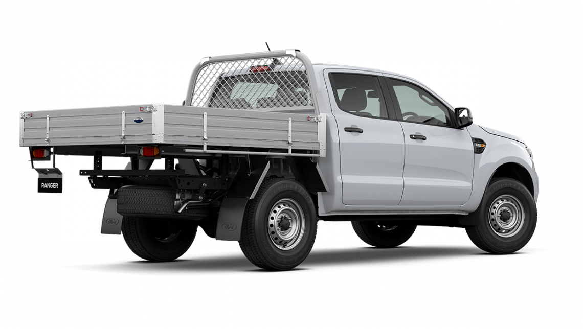 2020 MY20.75 Ford Ranger PX MkIII XL Double Cab Chassis Cab chassis Image 4