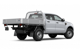 2021 MY21.25 Ford Ranger PX MkIII XL Double Cab Chassis Cab chassis Image 4