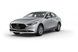 2021 MY20 Mazda 3 BP G20 Pure Sedan Sedan Image 2