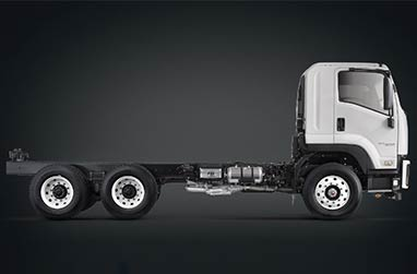 F Series 300PS high power 4x2, 6x2 and 6x4 range