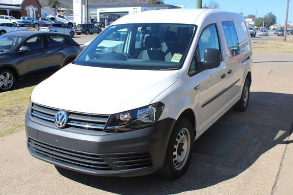 2019 Volkswagen Caddy Van 2KN Maxi Crewvan Van - dual cab Image 2