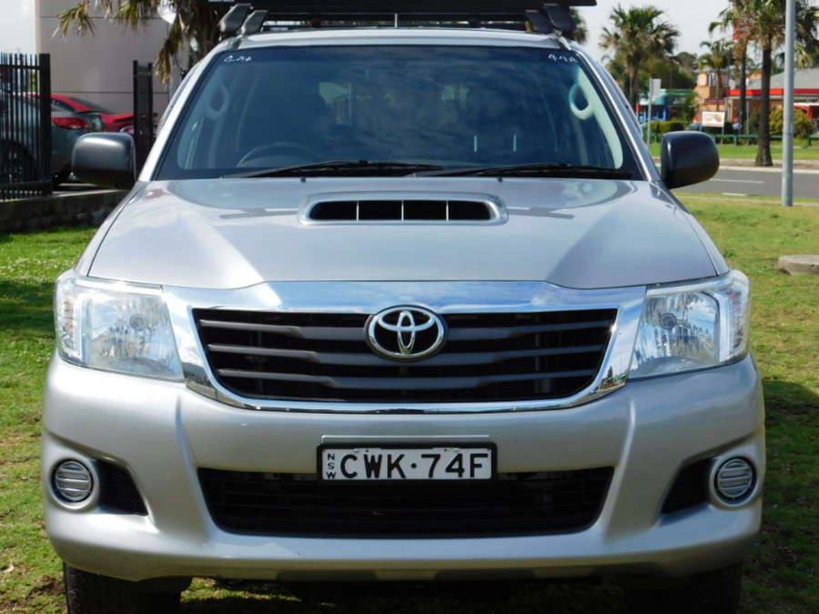 2014 Toyota HiLux KUN26R Turbo SR Utility crew cab