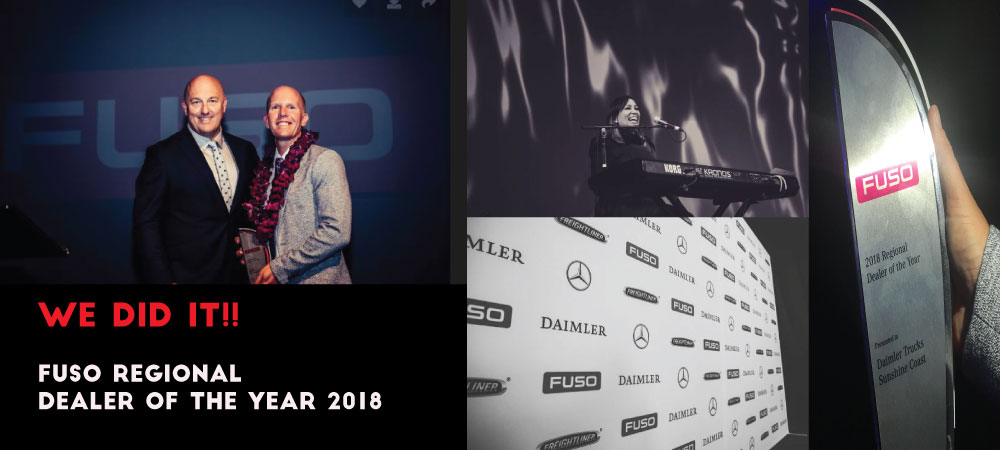 WINNER - DEALER OF THE YEAR 2018