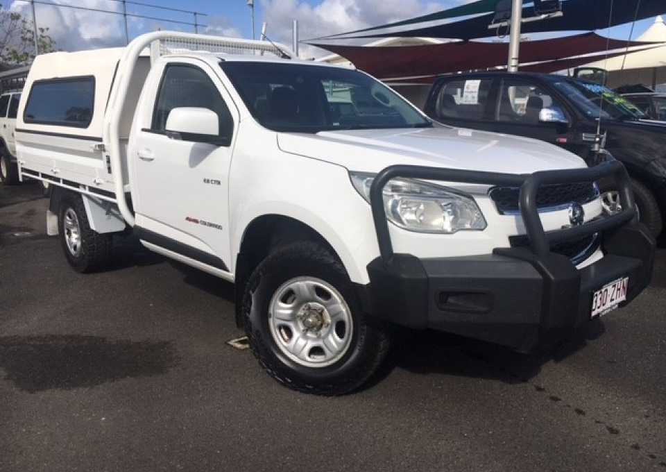 2013 MY14 Holden Colorado RG  LX Cab chassis - single cab