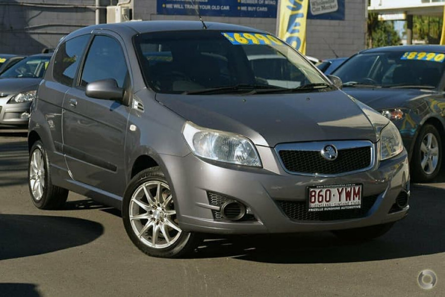 2008 MY09 Holden Barina TK MY09 Hatchback