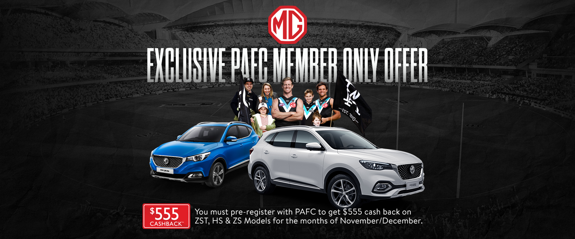 Port Adelaide EXCLUSIVE Member Offer