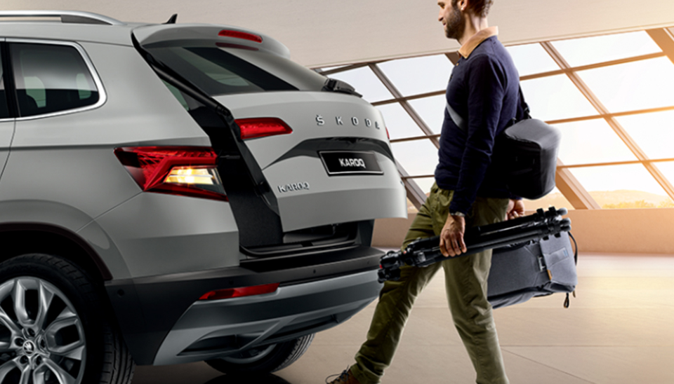 Karoq Automatic Tailgate Opening with Virtual Pedal