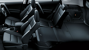 Rav4 Versatile Seating